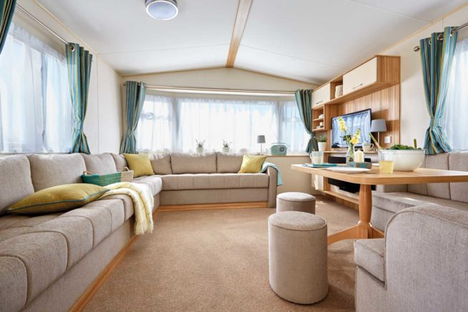 caravan accommodation