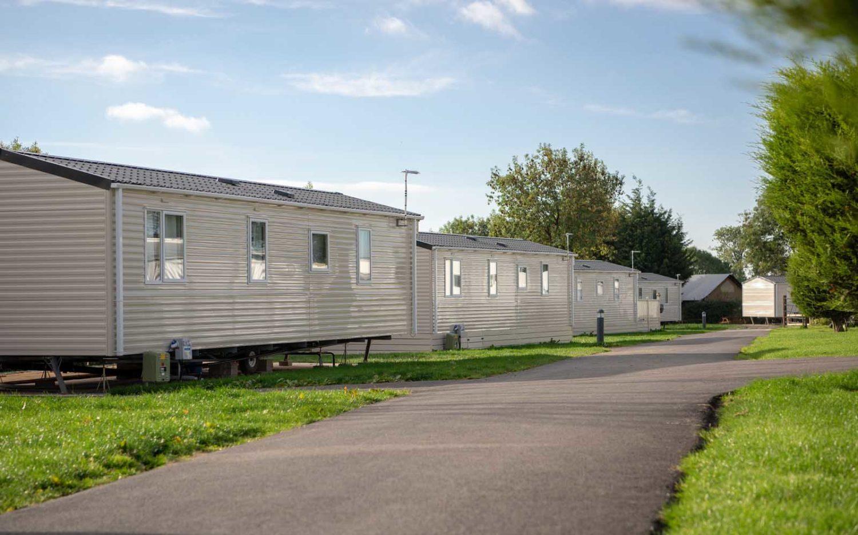 caravan park facilities in Derbyshire
