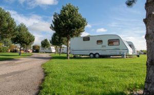Touring and Camping at Ashbourne Heights, Peak District