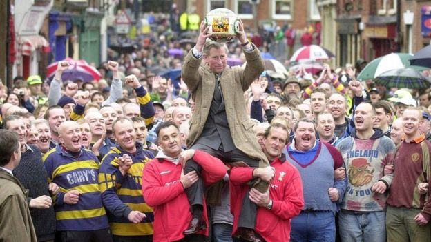 Ashbourne Shrovetide Football Event
