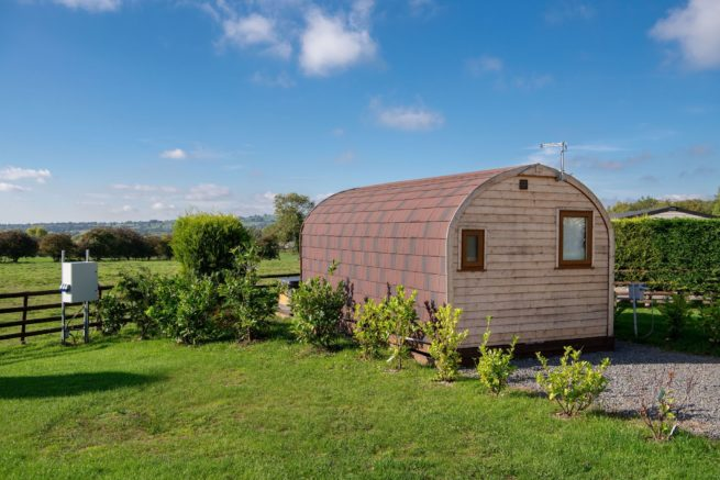 Ashbourne 1 bed glamping pod